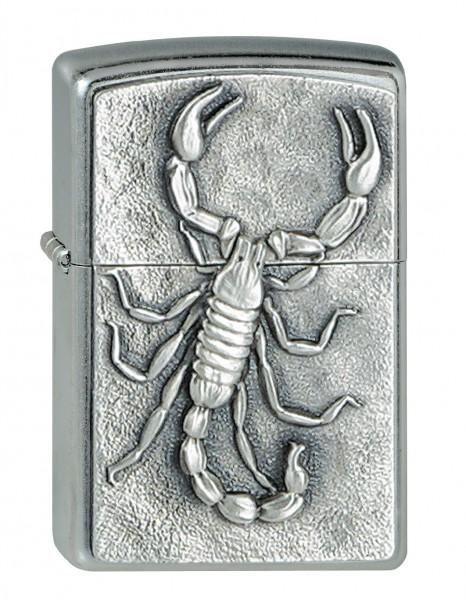 Zippo Street chrom Embl. Skorpion