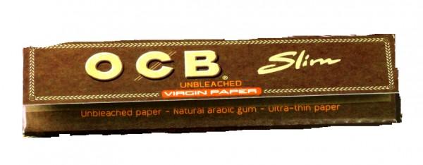 OCB unbleached Slim Virgin Paper