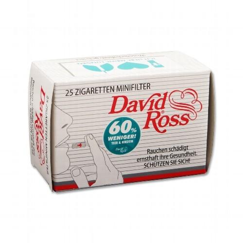 David Ross Filterspitzen 25er