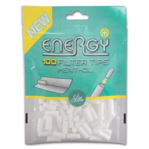 Energy Filter Tips Menthol