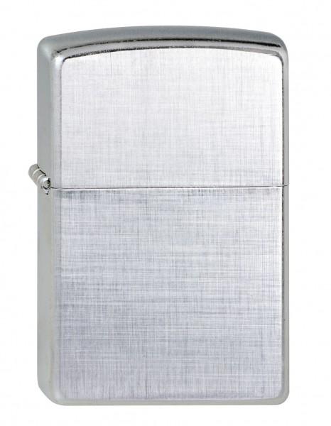 Zippo chrom Linen Weave