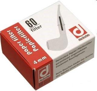 Denicotea Papierfilter 4mm