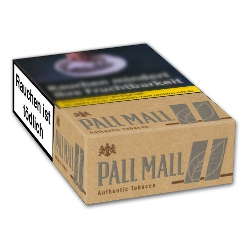 Pall Mall Authentic Tobacco Silver