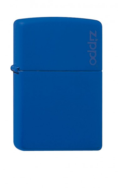 Zippo royal blau Zippo Logo
