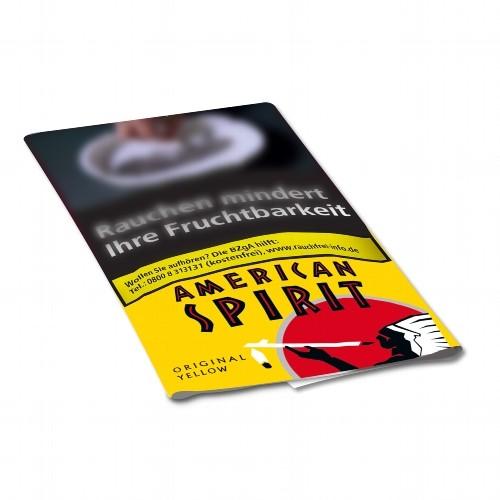 American Spirit Original Yellow Feinschnitt