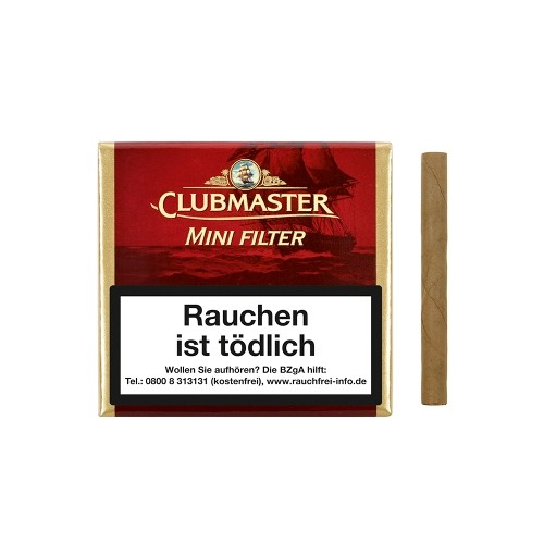 Clubmaster Mini Filter Red 222