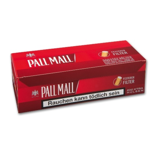Pall Mall Red Xtra Hülsen