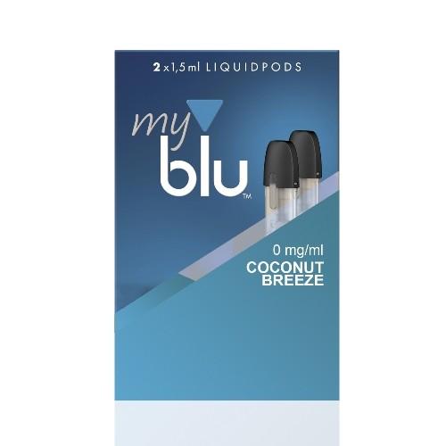 E-Liquidpod MY BLU Coconut Breeze 0 mg 2 Stück