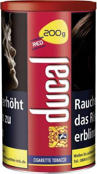 Ducal Original Red Cigarette Tobacco 200g