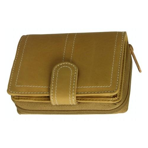 Geldbörse für Damen Leder braun