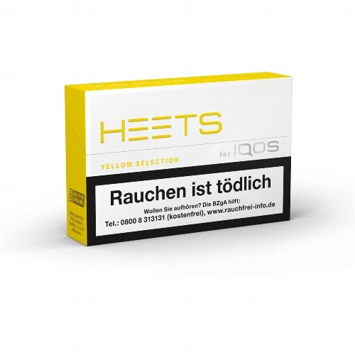 HEETS Yellow Selection Tobacco Sticks
