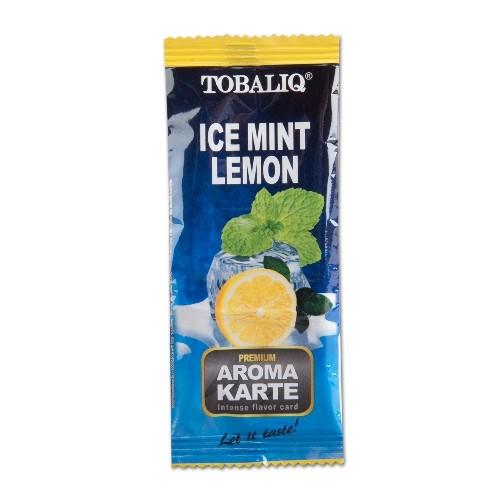 TOBALIQ Aromakarte Ice Mint Lemon
