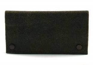 Feinschnitttasche Leder antik 17 x 8.5 cm