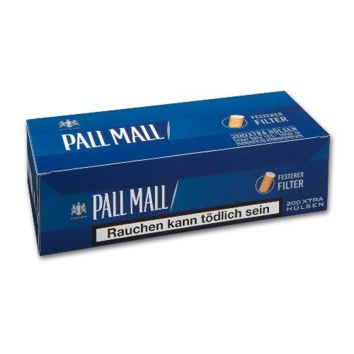 Pall Mall Blue Xtra Hülsen