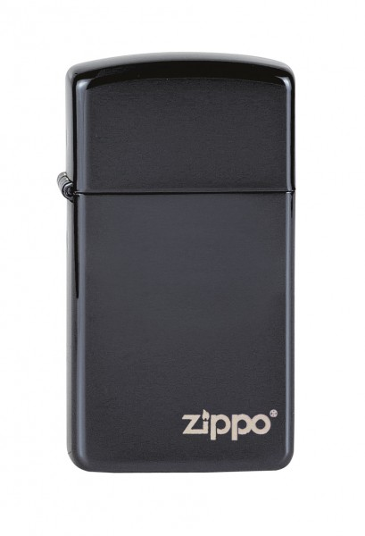 Zippo Slim Ebony Zippo Logo