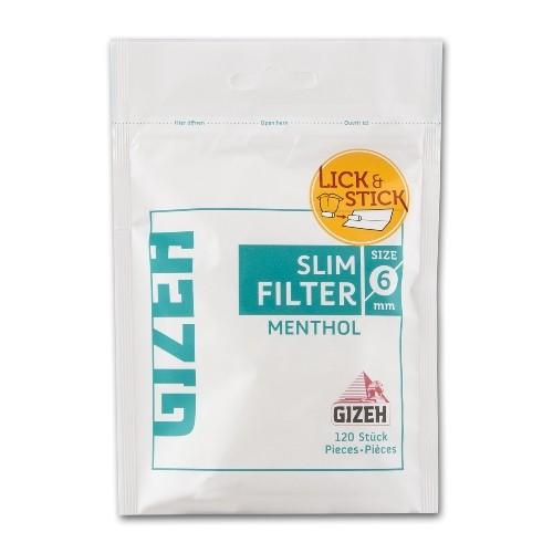 Gizeh Slimfilter Menthol