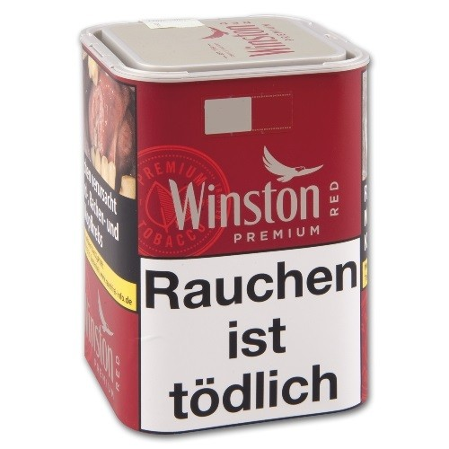 Winston Tobacco Premium red