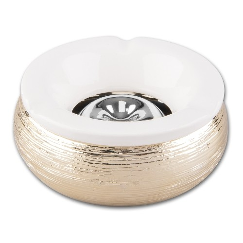 Windascher Keramik Metallstruktur silber