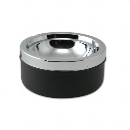 Kippascher chrom/schwarz 11 cm Durchmesser