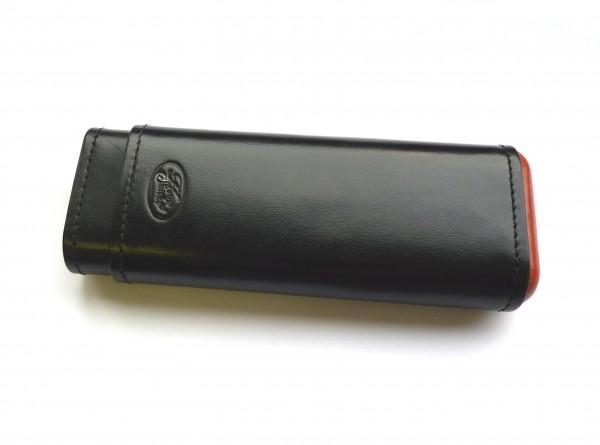 House of Smoke Zigarrenetui Churchill 3er schwarz
