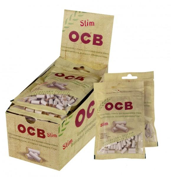 OCB Organic Slim Filter - Karton