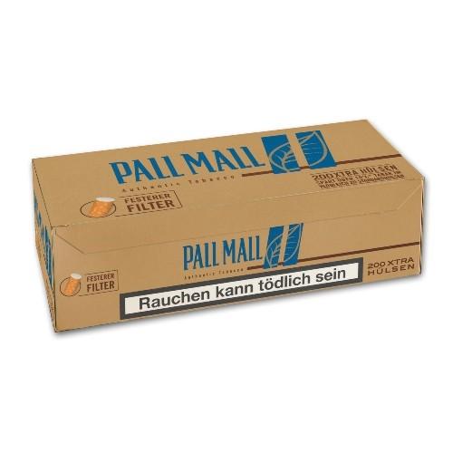 Pall Mall Authentic Blue Xtra Hülsen