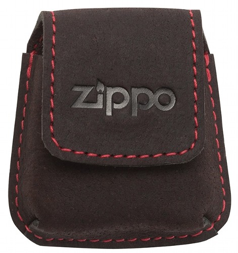 Zippo Ledertasche für Feuerzeuge mit Lasche