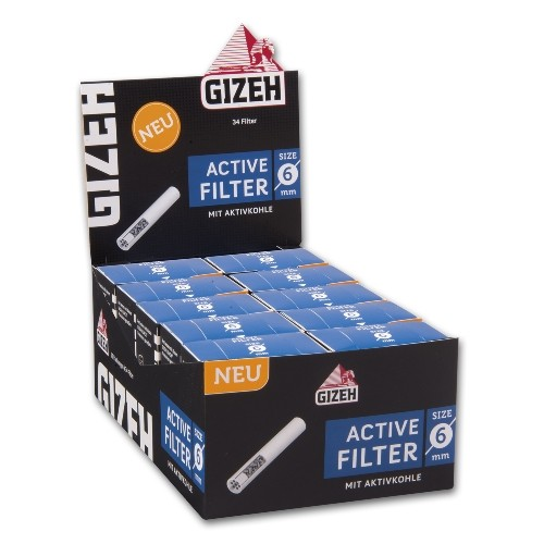 Gizeh Black Active Filter 6mm