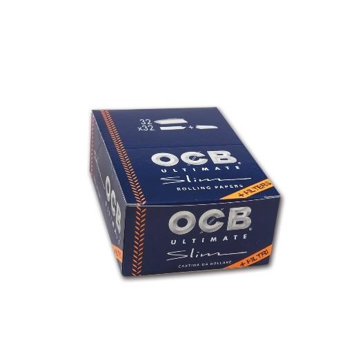 OCB Ultimate Slim (32x32) + Tips