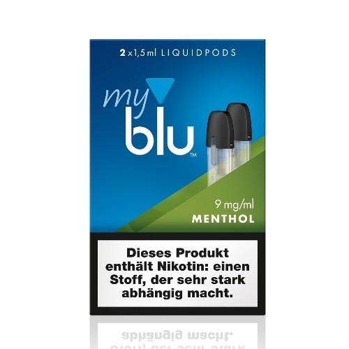 E-Liquidpod MY BLU Tabak Menthol 9 mg