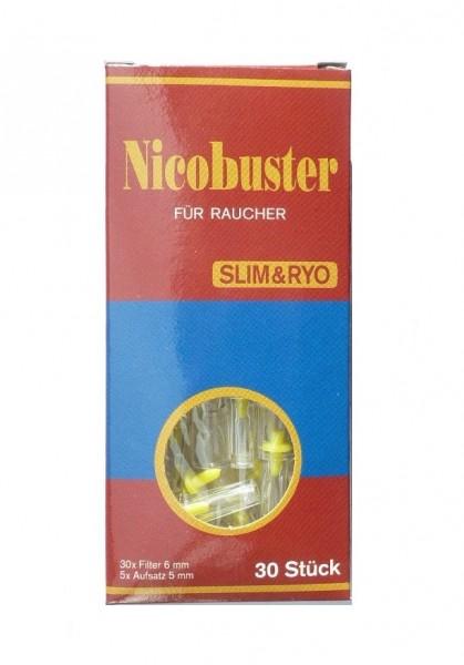 Nicobuster Filterspitzen 6mm