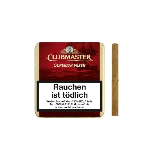 Clubmaster Superior Filter Red 230