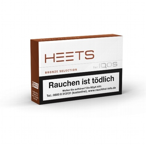 HEETS Bronze Selection Tobacco Sticks