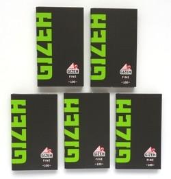 Gizeh Black Fine 5er