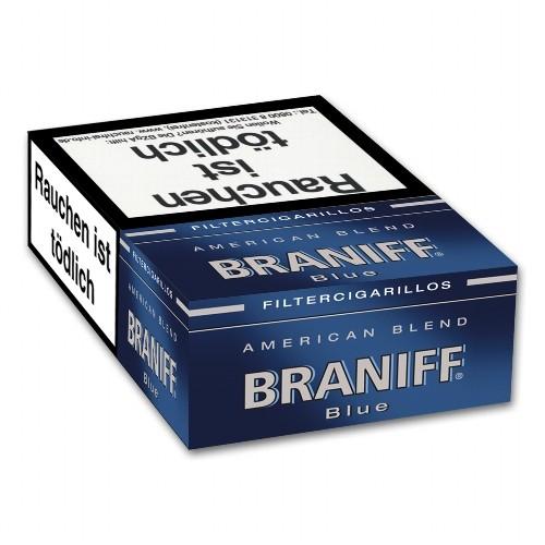 Braniff Naturdeckblatt Blue
